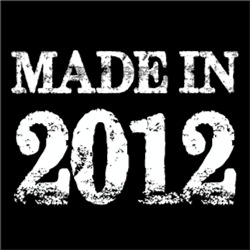 Made In 2012 BIRTHDAY Gift Year of Birth