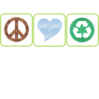 Peace, Love, Recycling