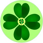 Dotty Irish Shamrocks