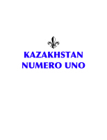KAZAKHSTAN NUMERO UNO