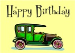 Happy Birthday Classic Car