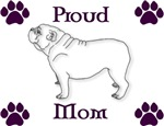Proud Mom-Purple