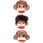 The 3 cheeky little monkeys Logo Shop
