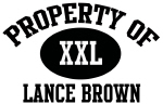 Property of Lance Brown