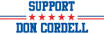 Support DON CORDELL