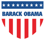 BARACK OBAMA 08 (emblem)