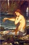 Mermaid by Waterhouse Siren Pre-Raphaelite Art