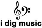 I Dig Music (Clefs)