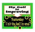 My Golf Is Improving/Jane Swan/