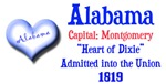 Alabama: Heart of Dixie
