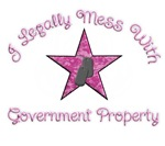 I Legally Mess With Government Property