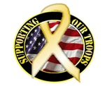 Supporting Our Troops (Yellow Ribbon)
