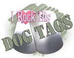 I Rock His Dog Tags