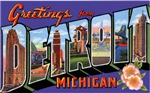 Detroit Michigan Greetings