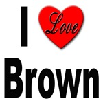 I Love Brown