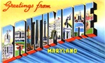 Baltimore Maryland Greetings