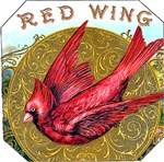 Red Wing Cigar Label