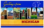 Pontiac Michigan Greetings