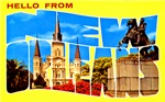 New Orleans Louisiana Greetings