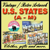 U.S. States Vintage Store (A - M)