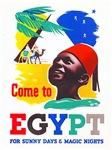 Egypt Travel Poster 1