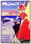 Monaco Travel Poster 1