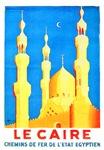 Egypt Travel Poster 2