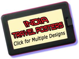 India Travel Posters
