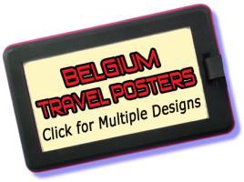 Belgium Travel Posters