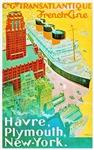 Transatlantic Travel Poster 2