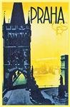 Prague Travel Poster 1