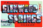 Glenwood Springs Colorado Greetings