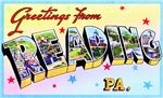Reading Pennsylvania Greetings