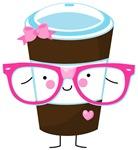 Nerdy Kawaii Coffee