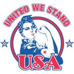 Rosie Riveter United USA