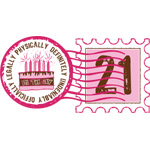 Birthday Stamp 21