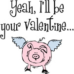 Pigs Fly Valentine