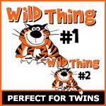 Wild Thing Twins Matching Sets