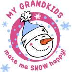 Snow Happy Grandkids