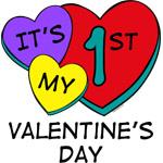 1st Valentine's Day Hearts