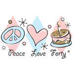 Peace Love 40