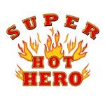 SUPER HOT HERO - WOMEN'S T-SHIRTS