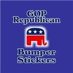 GOP Republican Bumper Stickers