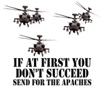 Apache Longbow Helicopter Military Shirts
