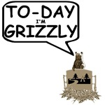Grizzly Bear shirts for grizzly babies and adults