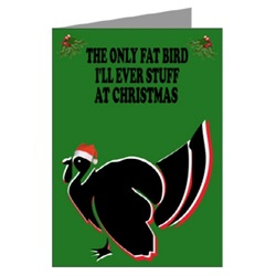 Christmas cards to offend fat women and fat girls