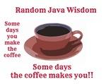 Random Java Wisdom