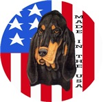 Made in the USA Black & Tan