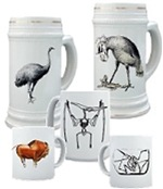Extinct Animals & Cave Drawings