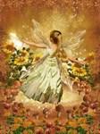 Fairy Girl in Fairy Ring